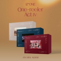 IZ*ONE 4th Mini Album - One-reeler Act Ⅳ(Random Ver)