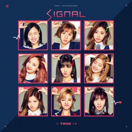 TWICE 4th Mini Album - SIGNAL (Random ver)