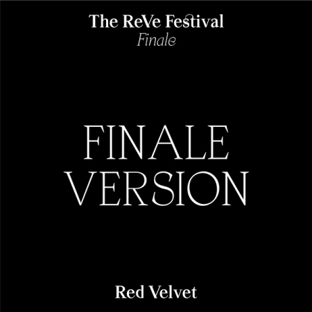 RED VELVET -Repackage Album [THE REVE FESTIVAL FINALE] FINALE VER. (Random cover)