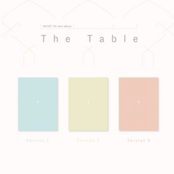 NUEST NU'EST 7th Mini Album - The Table ( Random ver.)