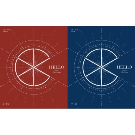 CIX 1st EP Album - HELLO CHAPTER 1. [HELLO, STRANGER]