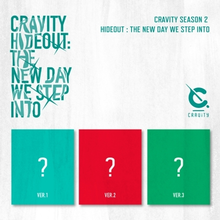 CRAVITY SEASON2 - HIDEOUT : THE NEW DAY WE STEP INTO (Random ver.)