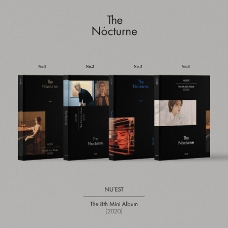 NU'EST THE NOCTURNE 8th Mini Album (Random Ver.)