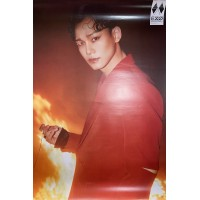 EXO 6TH ALBUM OBSESSION OFFICIAL POSTER - PHOTO CONCEPT CHEN B