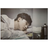 CHEN 2ND MINI ALBUM DEAR MY DEAR OFFICIAL POSTER - PHOTO CONCEPT 2
