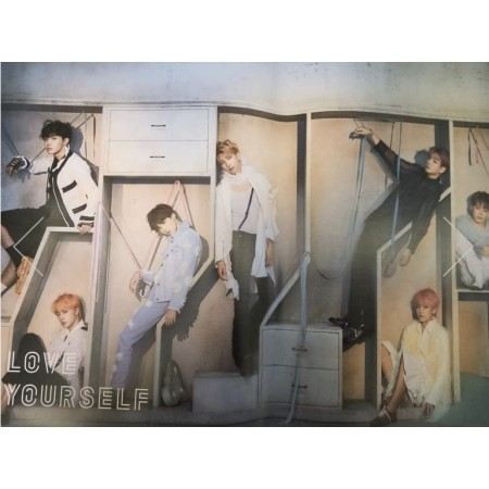 BTS Love Yourself Answer Official Poster - Photo Concept E