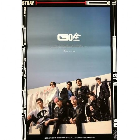 Stray Kids Go live Poster only Version 2