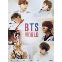 BTS World O.S.T Official Poster