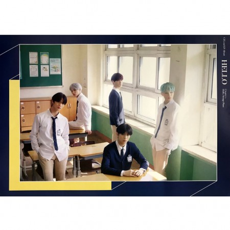 CIX   2ND EP. CHAPTER 2. [HELLO, STRANGE PLACE]  Poster only