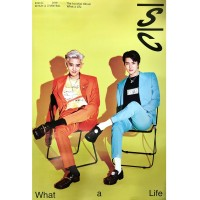 EXO SC 1ST MINI ALBUM WHAT A LIFE POSTER ONLY