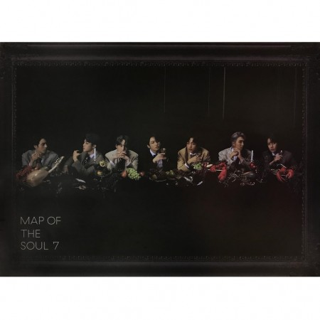 BTS Map of the Soul 7 Version 3 official Poster