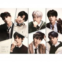 BTS Map of the Soul 7 Version 4 official Poster