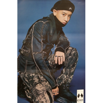 EXO 6TH ALBUM OBSESSION OFFICIAL POSTER - PHOTO CONCEPT CHANYEOL C