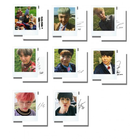 BTS Young Forever Photocard