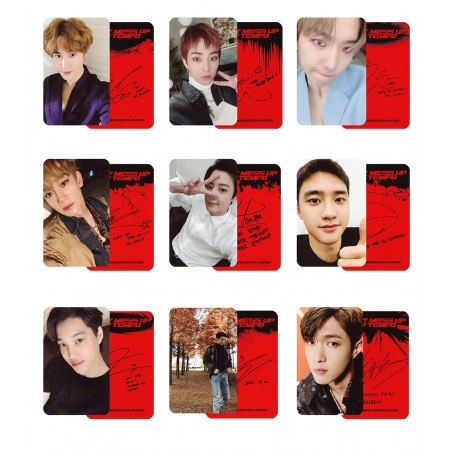 EXO DON'T MESS UP MY TEMPO Photocard Vivace Ver.