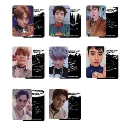 EXO DON'T MESS UP MY TEMPO Photocard Allegro Ver.