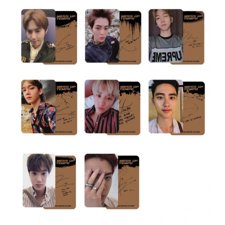 EXO DON'T MESS UP MY TEMPO Photocard Andante Ver.